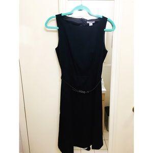 H&M | Navy Blue Dress with Belt
